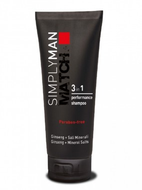 Nouvelle Simply Man Performance Shampoo «3 In 1»