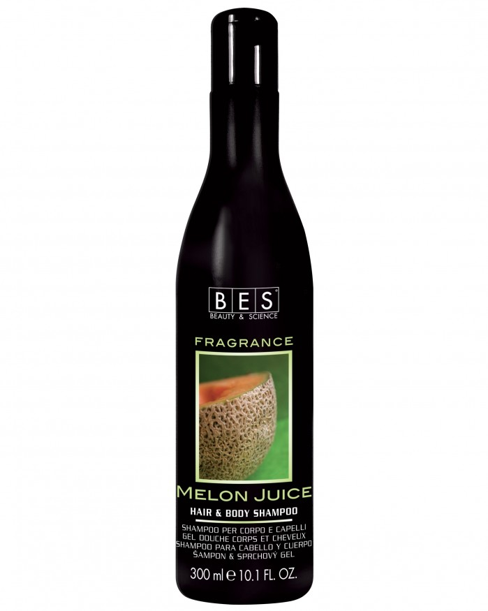 Bes Hair & Body Shampoo Fragrance Melon Juice