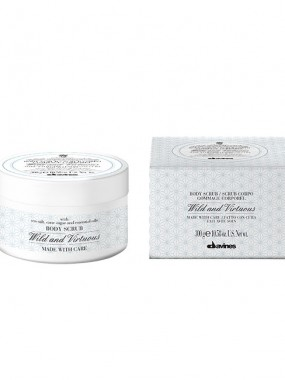 Davines wild and virtuous body scrub