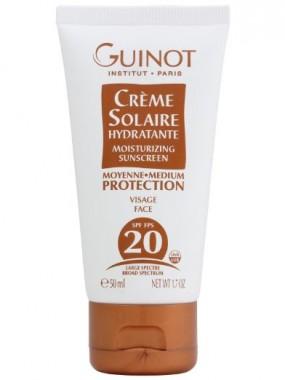 Guinot Crème Solaire Hydratante Visage SPF 20