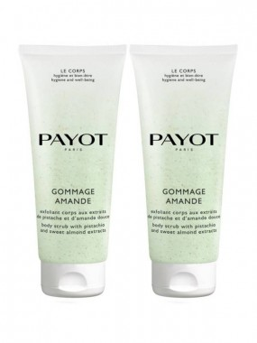 PAYOT НАБОР SET CORPS GOMMAGE AMANDE