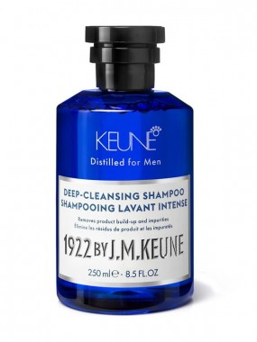 KEUNE 1922 BY J.M. DEEP-CLEANSING SHAMPOO