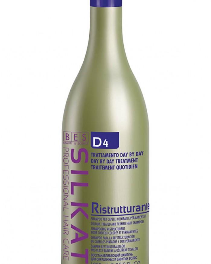 Bes Silkat D4 Ristrutturante Shampoo