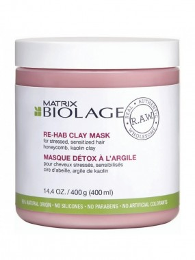 MATRIX BIOLAGE RAW RECOVER RE-HAB CLAY MASK