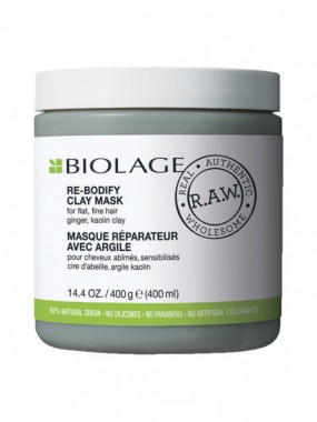 MATRIX BIOLAGE RAW UPLIFT RE-BODIFY CLAY MASK