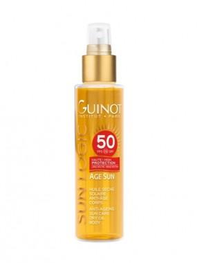 GUINOT Age Sun Anti-Ageing Sun Dry Oil Body Spf50