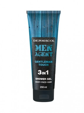 DERMACOL MEN AGENT Shower Gel 3 in 1