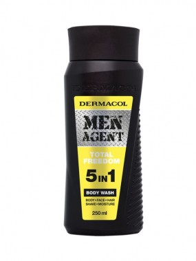 DERMAcOL MEN AGENT Body Wash 5 in 1