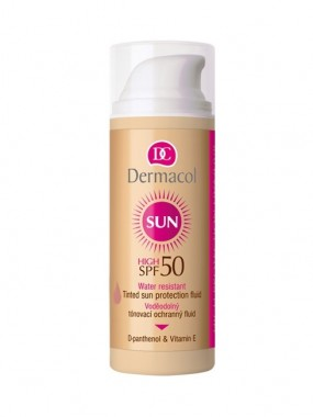 DERMACOL Sun Water Resistant Tinted Protection Fluid SPF50
