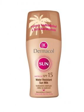 DERMACOL Water Resistant Sun Milk SPF10 / SPF15 / SPF20