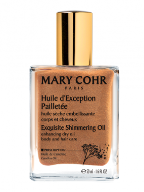 MARY COHR HUILE D'EXCEPTION PAILLETEE