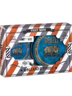 Reuzel Набор Holiday Piggy Back Blue