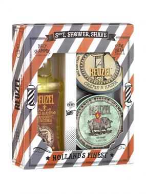 Reuzel Набор Holiday S..t, Shower, Shave