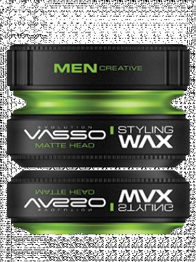 VASSO STYLE WAVE STYLING WAX MATTE HEAD