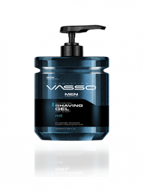 VASSO SKIN CARE SHAVING GEL REST