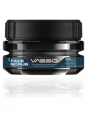VASSO SKIN CARE FACE SCRUB SHOWY