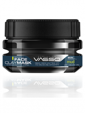 VASSO SKIN CARE FACE CLAY MASK MUD