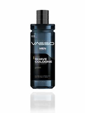 VASSO SKIN CARE AFTERSHAVE COLOGNE GOLDEN