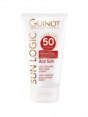 GUINOT AGE SUN LAIT SOLAIRE ANTI-AGE CORPS SPF50
