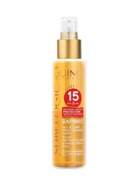 GUINOT SUN PERFECT EAU SOLAIRE SPRAY BIPHASE CORPS SPF15
