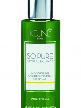 KEUNE SO PURE Moisturizing Overnight repair